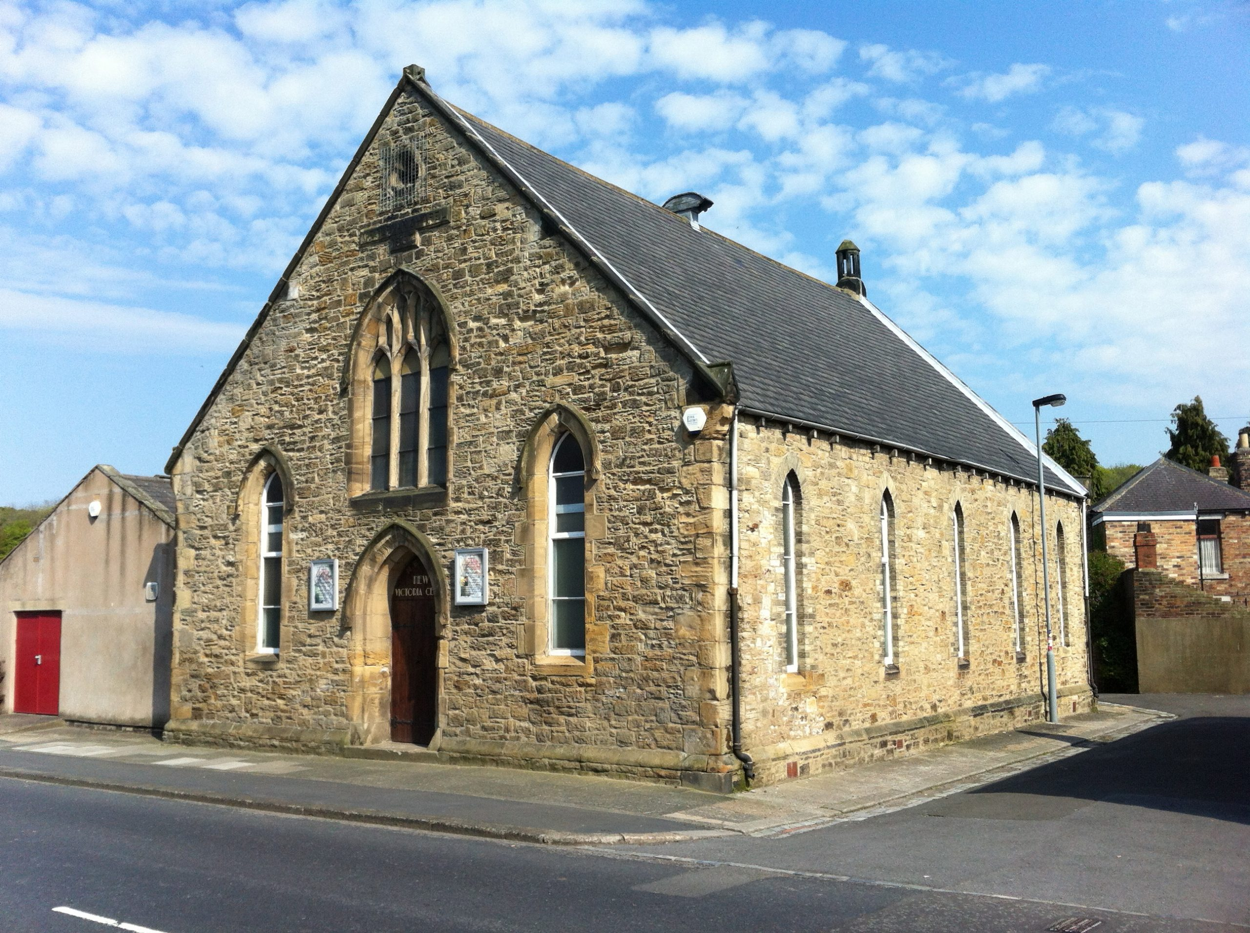 The former Trinity Methodist Chapel 2012 (built 1867 - now the New Victoria Centre)