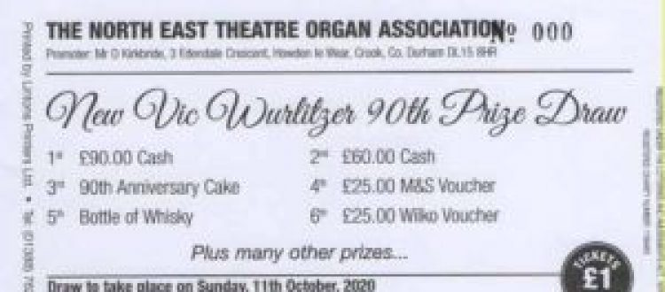 Organ's 90th Birthday Draw Gives Great Boost in Miserable Year